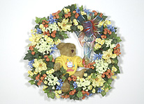 Silk Flower Wreaths on Special Occasion Dried And Silk Flower Gift Ideas