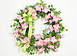 Petunia Sunrise Wreath