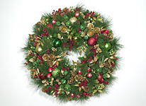 Christmas, Holiday & Winter Wreaths