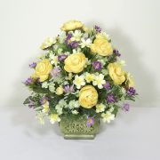 Sun Ripened Flowers Accent Piece