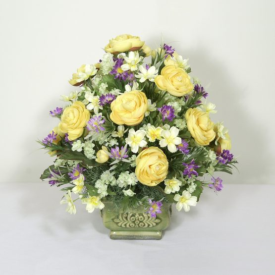 Sun Ripened Flowers Accent Piece