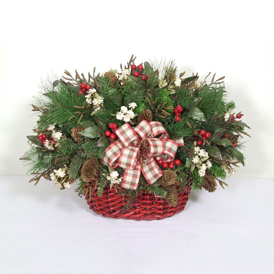 Traditional Christmas Basket
