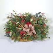 Fireside Basket Arrangement