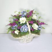 Hand-picked Flower Basket Centerpiece