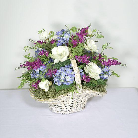 Hand-picked Flower Basket Centerpiece