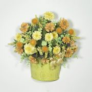 Garden Flowers Wall Basket
