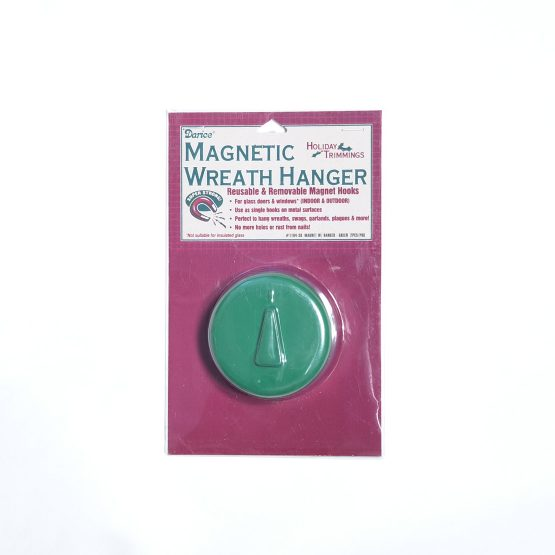 Green Magnetic Wreath Hanger