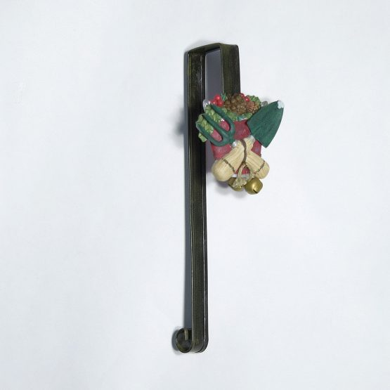 Gardening Tools Wreath Hanger