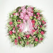 Wildflowers for Valentines Day Wreath
