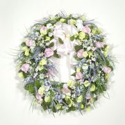 Garden Wildflowers Wreath