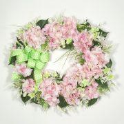 Fresh-cut Hydrangeas Wreath