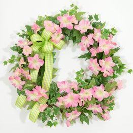 Petunia Sunrise Spring Wreath