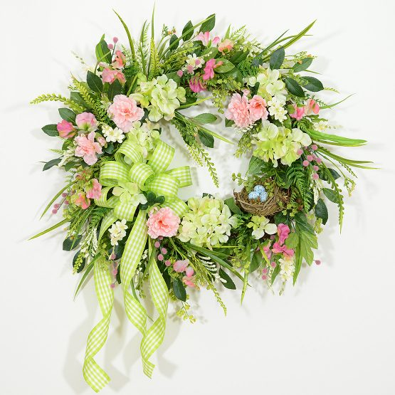 Enchanted Garden Wreath