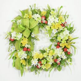 Strawberry Fields Wreath