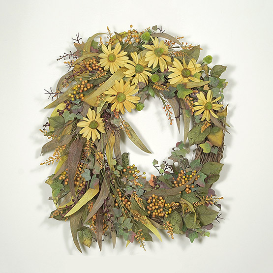 Earthly Treasures Wreath