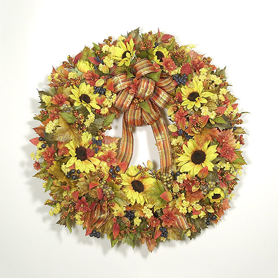 Autumn Radiance Wreath
