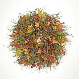 Mountain Lodge Retreat Wreath