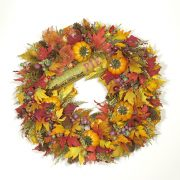 Country Fresh Pumpkin Pie Wreath