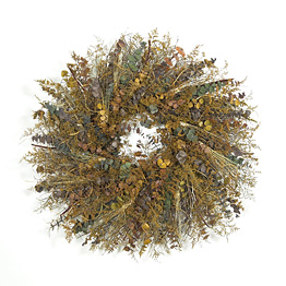 Mother Earth's Sketchbook Wreath