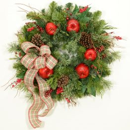 Town and Country Wreath