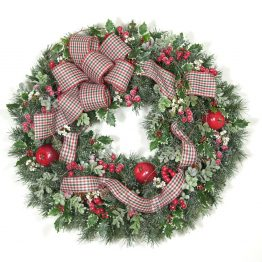 Christmas Traditions Wreath