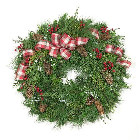 Vintage New England Wreath