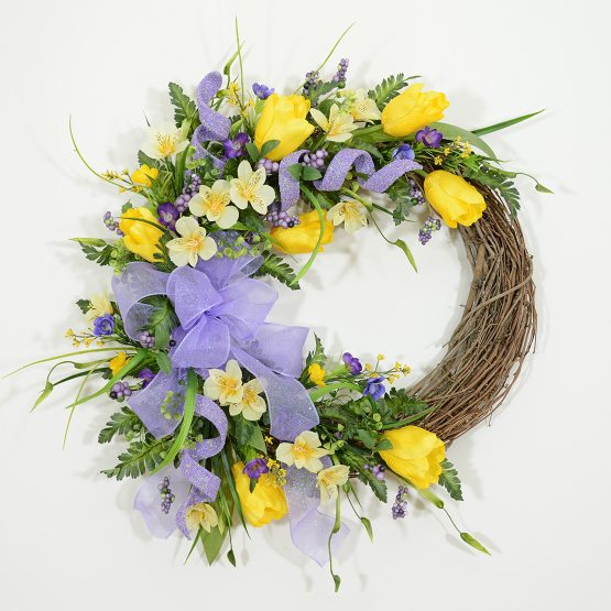 Wreath Club Standard Spring Wreath