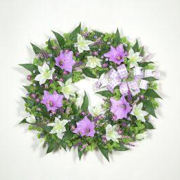 Delicate Elegance Spring Wreath