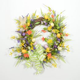 Spring Easter Egg Wreath