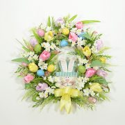 Spring Tulips Easter Wreath