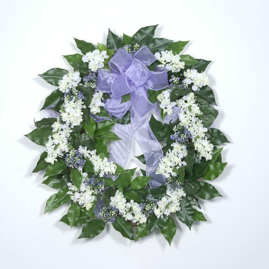 """Fresh-cut"" Lilac Wreath"