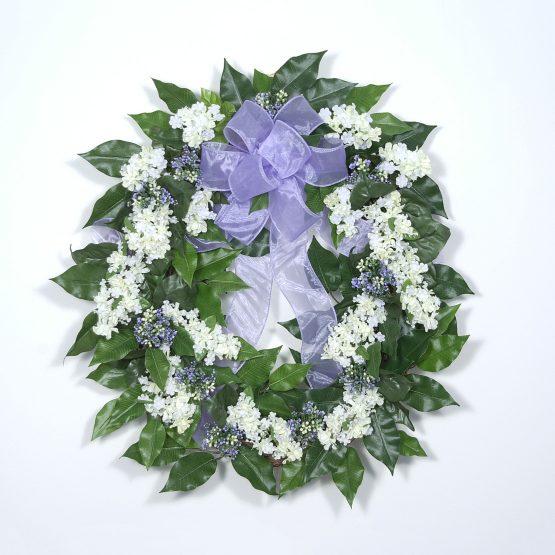 """""""Fresh-cut"""" Lilac Wreath"""