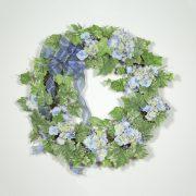 Cottage Hydrangea Wreath