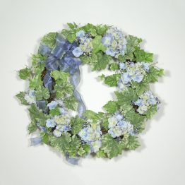 Cottage Hydrangea Wreath