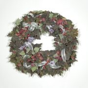 Chateau Vineyard Wreath