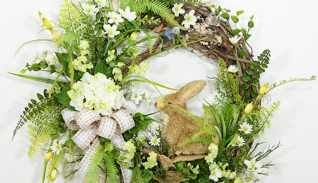 Secret Garden Summer Wreath