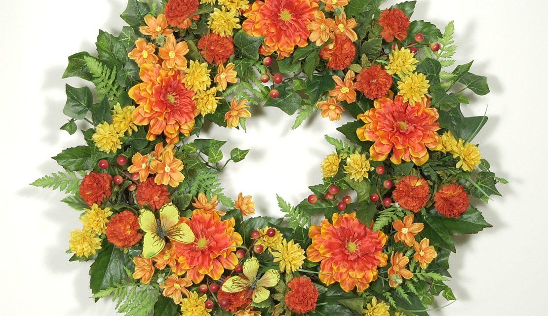 Butterfly Garden Wreath