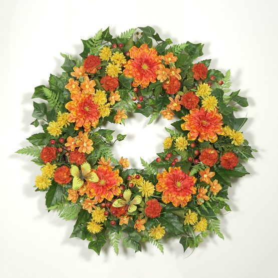 Butterfly Garden Wreath