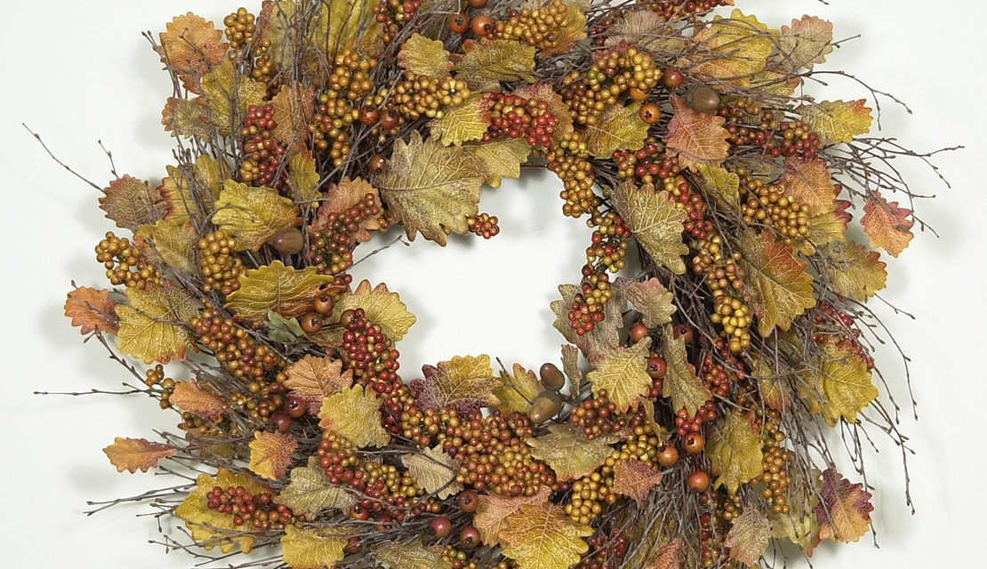 Autumn Harvest Wreath 2005