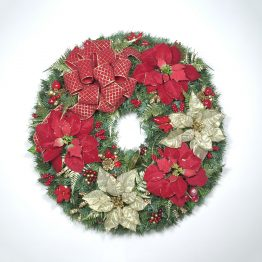 Classic Christmas Wreath '10