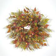 Wreath Ideas: Retired Autumn Wreaths
