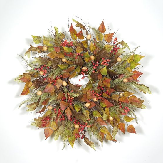 Wreath Ideas: Retired Autumn Wreaths