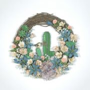 Southwest Desert in Bloom Wreath