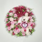 I love You Valentines Wreath