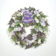 Fresh-Picked Lilac Wreath