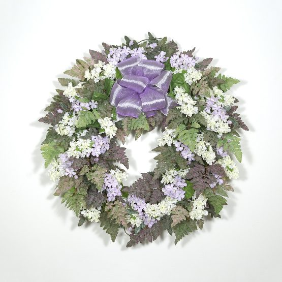 Fresh-Picked Lilac Wreath