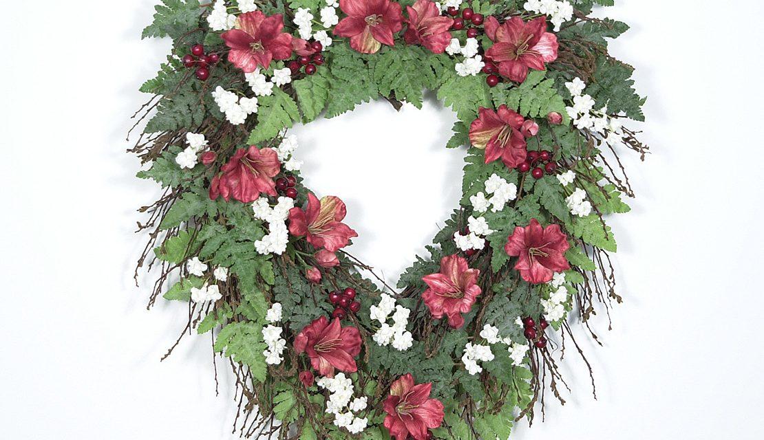 Heart Shaped Twig Wreath