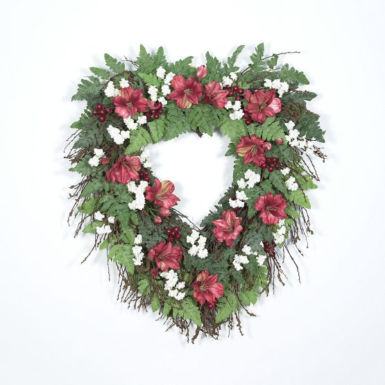 Heart Shaped Twig Wreath