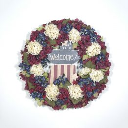 The Stars and Stripes Wreath