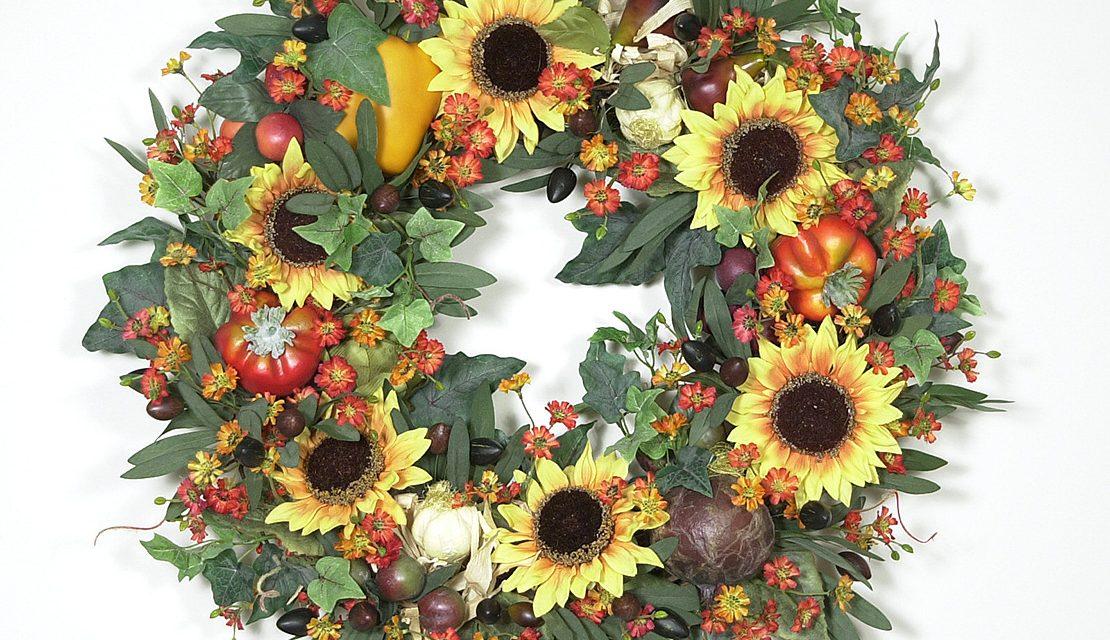 Garden Harvest Wreath
